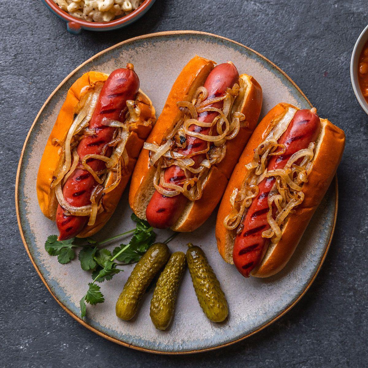 American Kobe Wagyu Gourmet Hot Dogs