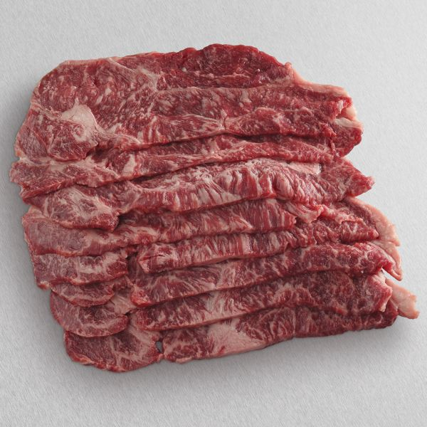American Wagyu Black Grade New York Strip Slices