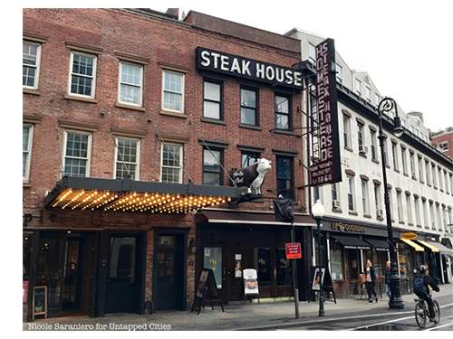 Old Homestead Steakhouse, NYC, the location of the $41 hamburger